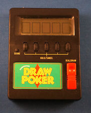 WACO COMPUTER DRAW POKER ELECTRONIC HANDHELD VIDEO GAME CASINO CARDS VEGAS LCD