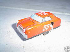 Vintage Tin Metal 99 Windup Race Car LOOK