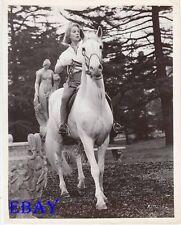 Vivien Leigh on horse VINTAGE Photo Roman Spring Of Mrs. Stone