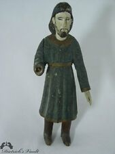 Antique Carved Wooden Santo of St. Joseph