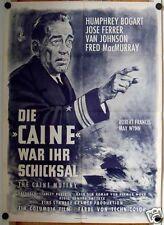DIE CAINE WAR IHR SCHICKSAL (Filmplakat '54) - HUMPHREY BOGART