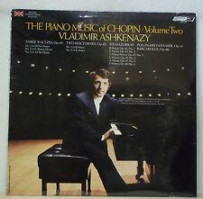 Ashkenazy CHOPIN Piano Music Vol.2 - London CS 7022 SEALED