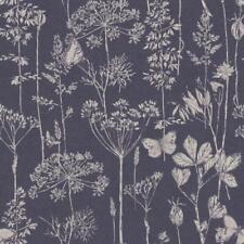 Arthouse Town & Country Meadow Floral Indigo Wallpaper 904108