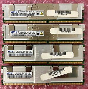 16GB Kit (4 X 4GB DIMMs) for Intel SR2500 Server, Samsung P/N M395T5160QZ4-CE66