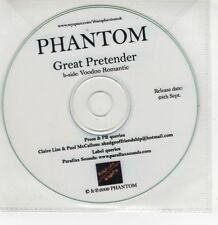 (GI274) Phantom, Great Pretender - 2009 DJ CD