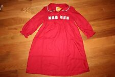 NWT Gymboree Gymmies Size 7-8 Red Owl Holiday Nightgown Pajamas Sleepwear