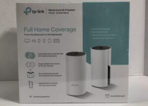 TP-LINK Deco W2400 Mesh Wi-Fi Router Replacement System (2-Pack) White Fast Ship