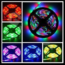5m LED RGB 3528 Streifen Strip 300 SMD 3000 LEDS Band Leiste Lichterkette
