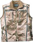 Cabela's Men's Alaskan Guide Wind Waterproof Outfitter Camo Silent Hunting Vest