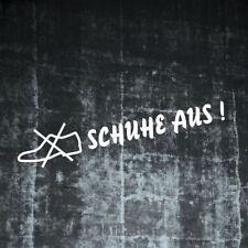 1x Schuhe aus Lkw Aufkleber Truck Sticker Warnung Hinweiß  193