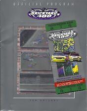2000 BRICKYARD 400 OFFICIAL NASCAR PROGRAM & TICKET STUB