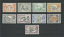 Mint Hinged Single Nigerian Stamps (Pre-1960)