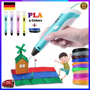 3D Druckstift 3D Stereoscopic Printing Pen Für Kinder & Erwachsene Geeignet DHL