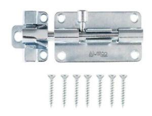 Ajustco 2-1/2 inch Zinc-Plated Barrel Bolt