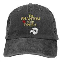 The Phantom Of The Opera Logo cowboys Snapback Baseball Hat Adjustable Cap