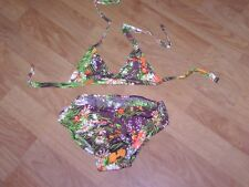 Maillot de bain 2 pièces DARINA CREATION taille 12 ans multicolore NEUF