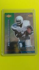 1999 RICKY WILLIAMS COLLECTOR'S EDGE PRIME CONNECTION RC PC1 SAINTS MINT TO GEM
