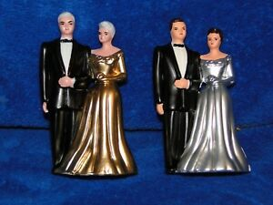 New Bride & Groom Anniversary Couple, 25th or 50th you pick