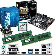 intel pentium g4400 3.3ghz & asus h110m-a & 8gb ddr4 2133 crucial bundle