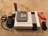 Nintendo Entertainment System NES Console - Zapper w/ Ninja Turtles & Quickshot