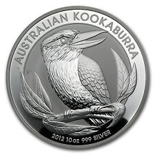 2012 10 oz Silver Australian Kookaburra Coin