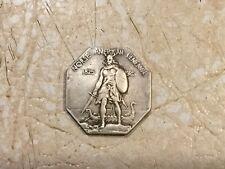 U.S. NORSE AMERICAN CENTENNIAL, SILVER HALF DOLLAR COMMEMORATIVE,THICK,1825-1925