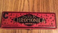 """Vintage """"The Super Chromonica"""" M. Hohner Harmonica - Made In Germany"""