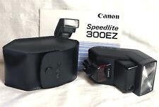 Canon 300Ez Flash for Eos Rebel K2 Ti 2000 G Elan 7e Ii Iie 7 1v 3 1N 10s 1 etc
