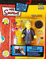 SERIES 12 DON VITTORIO DIMAGGIO THE SIMPSONS WOS ACTION FIGURE PLAYMATES MIP