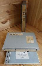 RAUCAT Partie de campagne 2/2 ILL de JO MERRY Reliure japonaise papier Enoshima