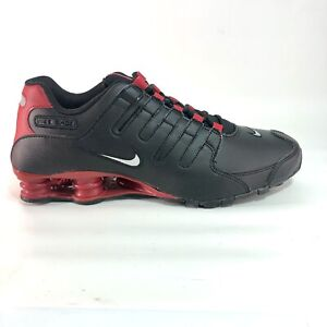 Nike Shox NZ EU Bred Men's Shoes Size 11 Black Red White 501524 027 Rare Limited