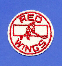 1970's DETROIT RED WINGS HOCKEY PATCH CREST VINTAGE NHL TEAM LOGO EMBLEM