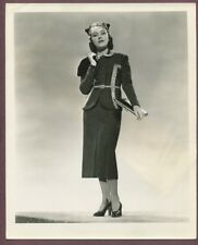 FAY WRAY Gorgoeus Casual Wool Womens Suit A.L SCHAFER 1937 Glamour Photo J857
