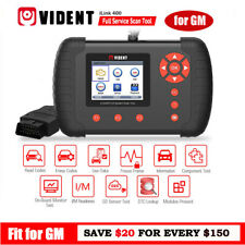 VIDENT iLink 400 FOR GM CHEVROLET CADILLAC OBD2 Full System Scan Tool ABS/SRS