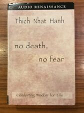 No Death, No Fear COMFORTING WISDOM FOR LIFE Thich Nhat Hanh BOOK ON CASSETTE