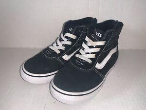 Toddler Vans Sk8 Hi HighTops High Tops Skate Shoes - Size 9 Toddler Black
