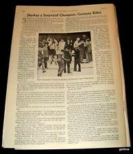 BOXING 1932 JACK SHARKEY BEATS MAX SCHMELING FEATURE HEAVYWEIGHT CHAMPIONSHIP