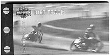 Harley Davidson Action Flip Book Dirt Track Race  A Movie in a Book