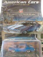 CHEVROLET CHEVELLE  SS 454 1970 AMERICAN CARS C. #06 MIB DIE-CAST 1:43