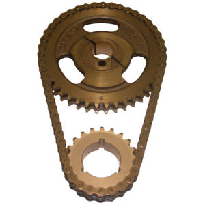 Cloyes Engine Timing Set C-3057X; Heavy Duty Double Roller for Ford 302/351W SBF