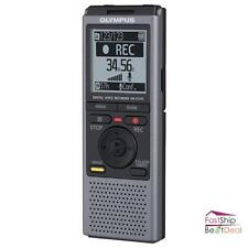 Olympus Digital Voice Recorder 2GB Flash Memory Storage Portable USB Cable WMA
