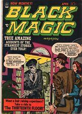 BLACK MAGIC Vol. 2 #5 Jack Kirby Crestwood Publishing 1952 VG
