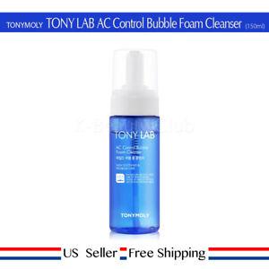 TONY MOLY TONY LAB AC Control Bubble Foam Cleanser 150ml Acne + Free Sample [US]