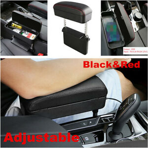 1x Car Accessories Center Console Armrest Pad Adjustable Seat Gap Storage Box