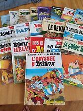 BD Lot de 19 albums Astérix  au choix en édition originale et en réédition