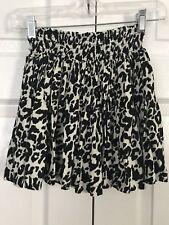 H&M Cheetah Skirt - Size 2