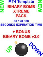 Binary Options Trading Strategy BINARY BOMB XTREME 4-1 Template 60,120,300 Sec.