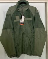 New with Tags USGI Army Surplus Gen III POLARTEC FLEECE JACKET Foliage Green XL