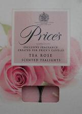 Floral Rose Scented Candles & Tea Lights
