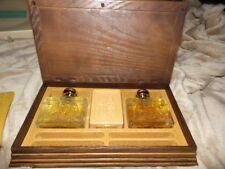 New Vintage Avon Wild Country Cologne Set ~Jewelry box american bald eagle